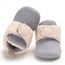 New Baby Cute Boots Autumn Winter Warm Models Stitching High