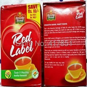 Indian Food Tea Red Label Tea Tarik Food Label Sticker Label Matrixfood Grade Plastic Tube Aliexpress