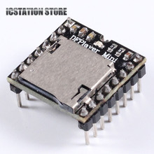 2pcs DFPlayer Mini MP3 Player Module MP3 Voice Module For Arduino Support TF Card and USB Disk
