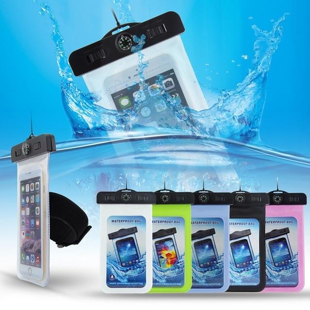 ae9134557c4 Phone Waterproof bag fundas coque capa de capinhas para celular for iphone  5 6 plus samsung