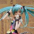 21 cm acción Hatsune MIKU figura juguetes comercial ver venta al por mayor - venta al por menor figma acción anime figura de juguete Racing MIKU modelo
