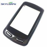 skylarpu Capacitive Touchscreen for Garmin Edge 800 GPS Bike Computer Touch screen digitizer panel (with Black frame)