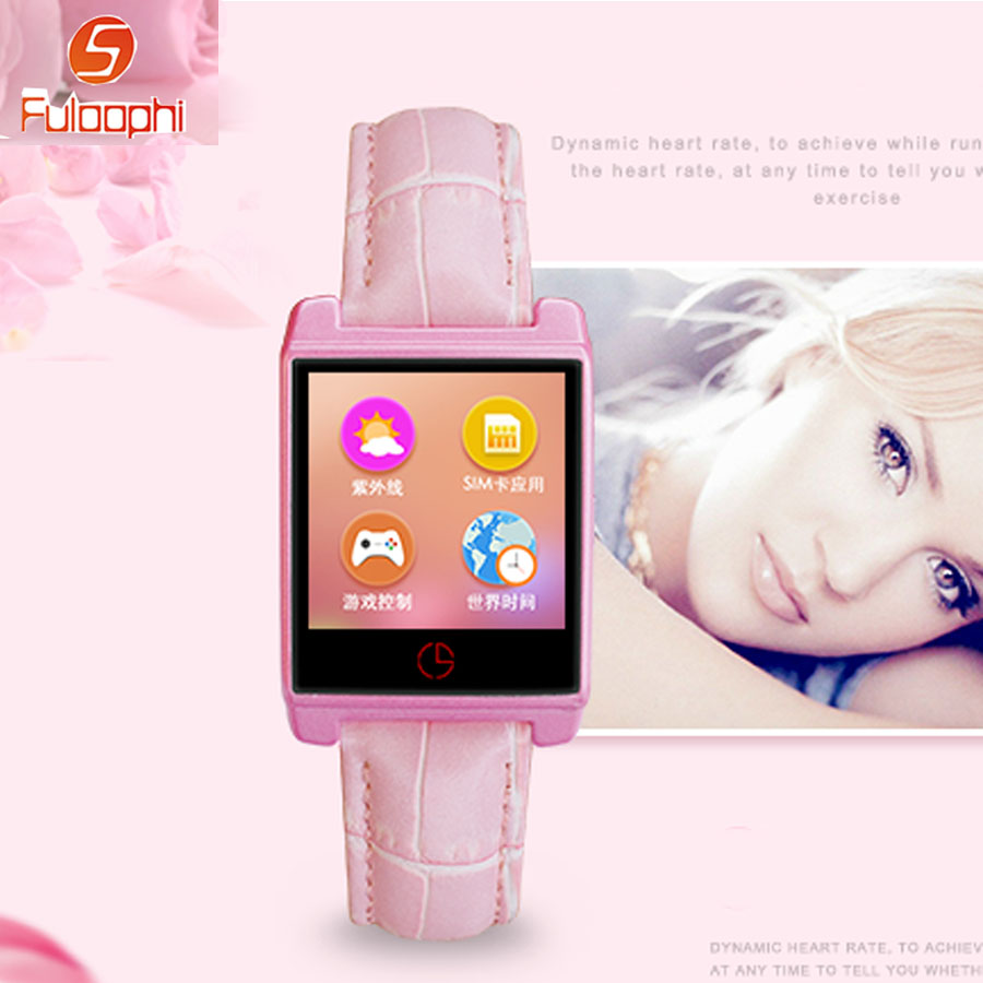 Luxury Leather Ladies Women Watch UV Bluetooth Wristwatches Smart Heart Rate Monitor Fitness Sports Smartwatch For IOS Android s3 bluetooth waterproof smart watch wristband fashion women ladies heart rate monitor fitness tracker smartwatch for android ios