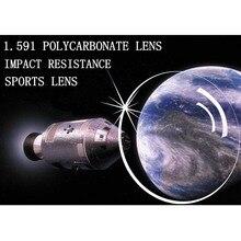 1.591 מדד מרשם פוליקרבונט משקפיים עדשות לקוצר ראייה/רוחק אנטי השפעה בלתי שביר פלסטיק עדשות אנטי UV