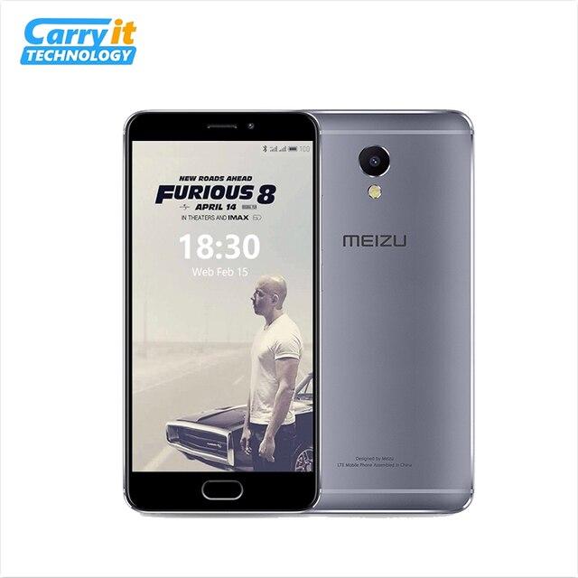 """Original Meizu M5 Note 32 ГБ 3 ГБ OTA Глобальная версия M621H Мобильный телефон Android Helio P10 Октана ядра 5.5 """"13MP Отпечатки пальцев 4000 мАч сотовой"""