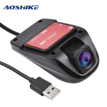 AOSHIKE Dash Camera Mini Car DVR USB Camera For Android In Car HD 140 Degrees Driving Recorder Night Vision Vehicle Camera