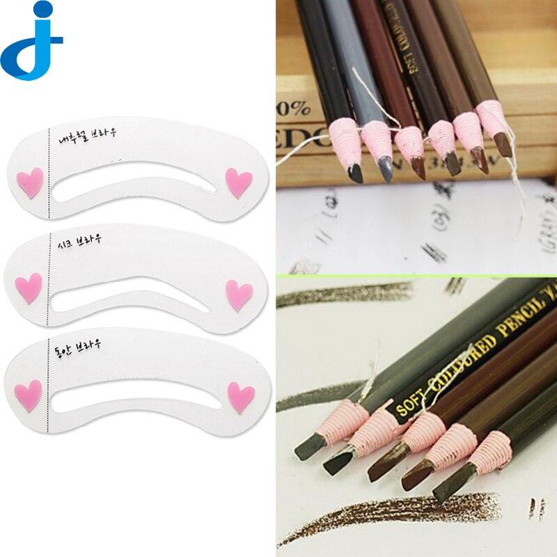 Longlasting Eyebrow Pencil Eye Brow Paper Pen  Eyebrow Enhancers Makeup Cosmetic Eye Cards Shaping  Liner Make Up Tool 2HM13