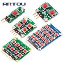 Micro switch 1*2/2*2/2*4/4*4 матричная клавиатура 8 битная Кнопка