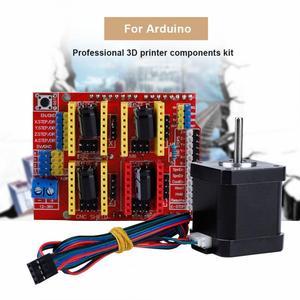 Image 2 - Professional 3D เครื่องพิมพ์ CNC ชุดโมดูลไดรฟ์ Stepper Motor สำหรับ Kuman R3 CNC สำหรับ 3D เครื่องพิมพ์