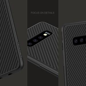 Image 5 - Case voor Samsung Galaxy S10 Plus S10 + S10E Nillkin Synthetische Fiber Carbon Fiber PP Back Cover sFor Samsung Galaxy s10 Plus Case