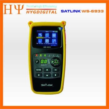 10pcs/lot Original Satlink WS-6933 Satellite Finder DVB-S2 FTA C KU Band Satlink Digital Satellite Meter WS6933 hot sell - DISCOUNT ITEM  0% OFF All Category