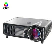 Nueva Computadora De Mano Micro proyector LCD de Cine En Casa Portátil 854*480 1500 Lúmenes HDMI/USB/AV/SD Proyector