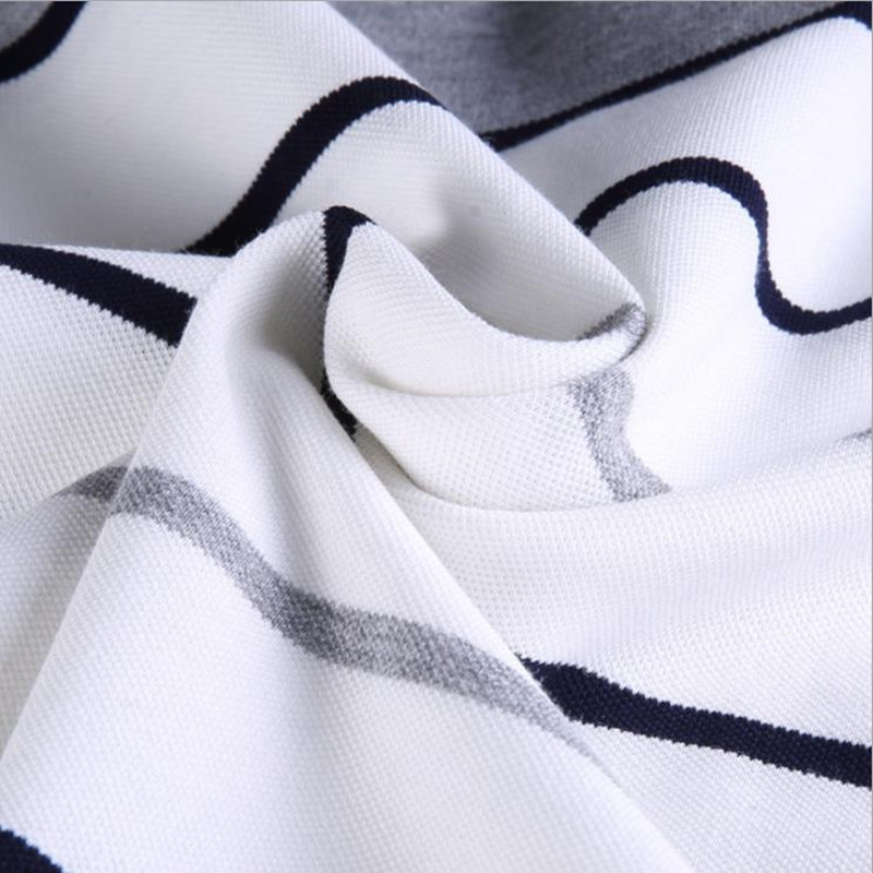 2018 New Men summer casual shirt slim fit short sleeve 100%cotton breathable soft business striped embroidery shirts Po11 6