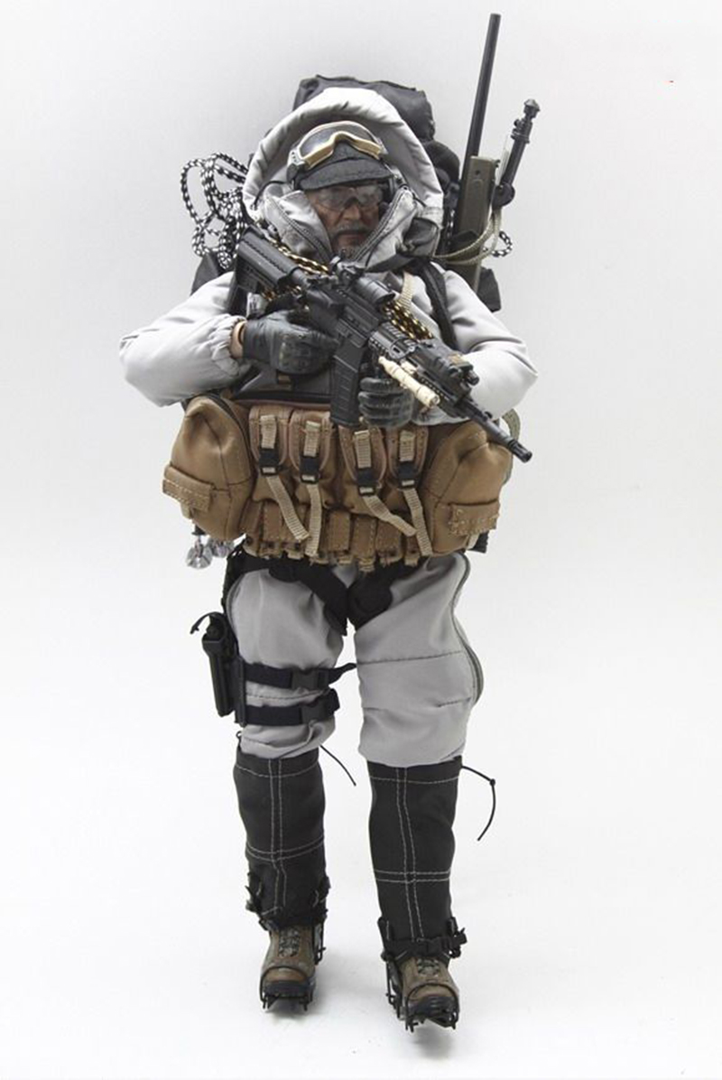 1/6 Scale Mlae Clothes 1046-G Special Forces Mountain OPS PCU Sniper Clothing Set fit 12