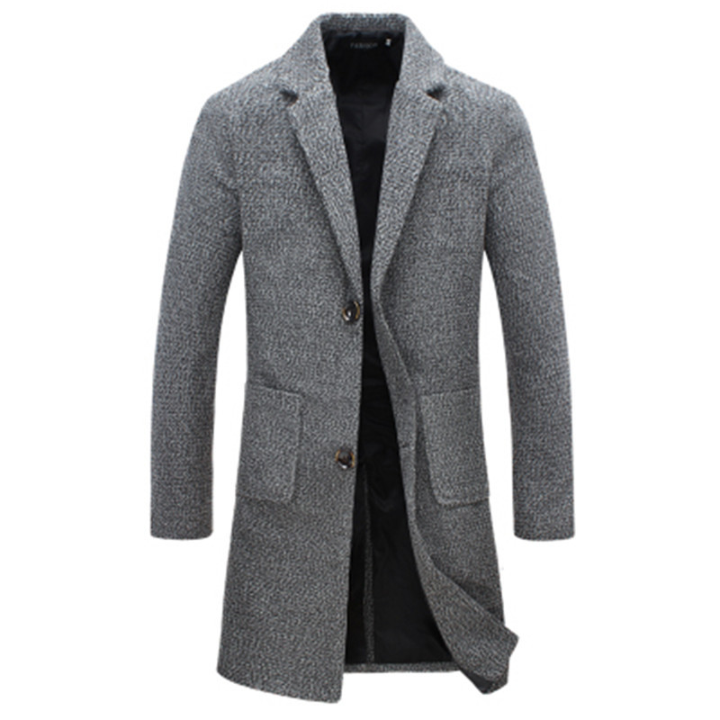 Men's Winter Wool Coats Promotion-Shop for Promotional Men&#39 ...