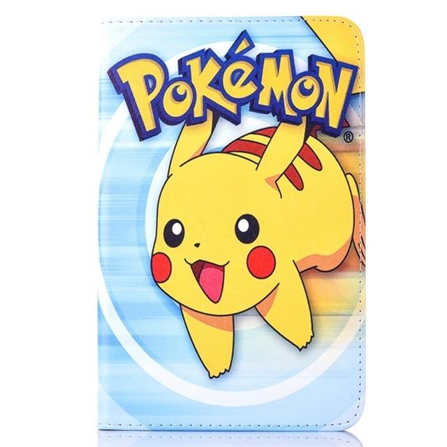Case For Samsung Galaxy Tab 3 Lite 7 0 T110 Pokemon Go Cute Pikachu
