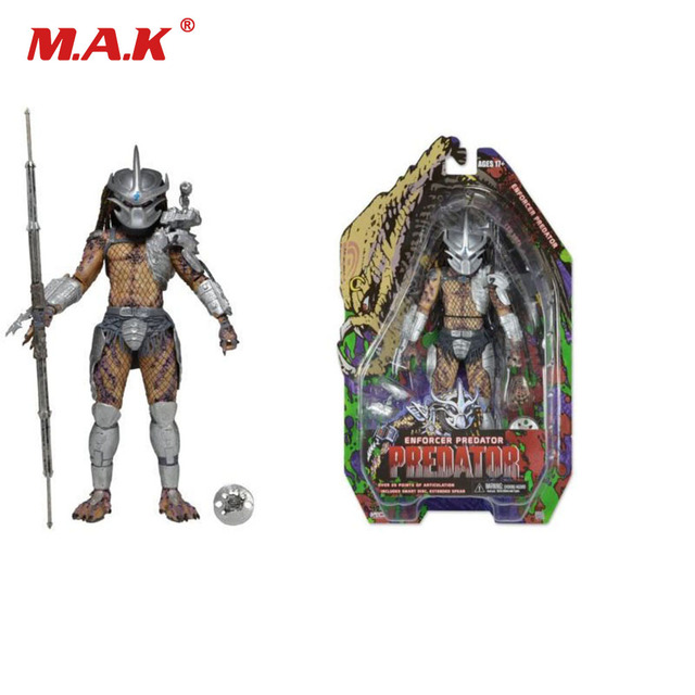7 inches Predator 12th Generation Law Enforcer PVC Anime Action Figure Model Toys Collection Gift