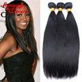 8A Brazilian Virgin Hair Straight 3Pcs/Lot Virgin Brazilian Straight Human Hair Weaves Rosa Queen Hair Products Human Hair Weave