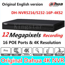 DaHua Original English Version 16/32 Channel 1U 16PoE Ports 4K Network Video Recorder NVR5216-16P-4KS2 & NVR5232-16P-4KS2 H.265