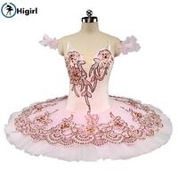2017 NEW! professional tutu ballet leotard Pink adult ballerina costumes ballet tutu dance costumes for kids BT9135