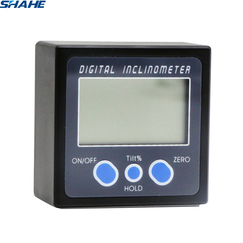 Electronic Protractor  PRO 360 Digital Angle Level Angle Meter Angle Bevel Magnets Base Digital Plastic Inclinometer
