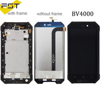 For 4.7 inch Blackview BV4000 LCD Display+Touch Screen Digitizer Assembly With Frame Replacement BV 4000 Pro