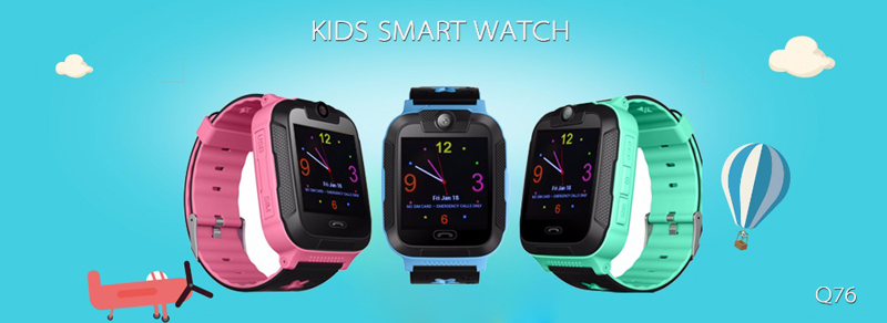 Kids 3G Smartwatch with 2 way calls, GPS and camera 4