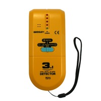 All Sun TS73 Handheld 3in1 Detector Find Metal Wood Studs AC Voltage Live Wire Wall Scanner