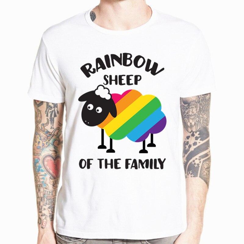 LGBT Pride Month T Shirt LGBTQ Pride Tee Hip Hop Short Sleeve Casual Printed t-shirt Men And Women Top Tee HCP4480