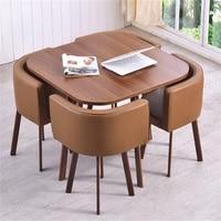 Высококачественные Офисные столы кофе стол для совещаний Совета со стульями
