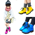 Aercourm A New Kids Winter Boots Children Leather Shoes Girls Boots Boys Sports Shoes Girls Boys Sneakers Black Red Yellow 21-36