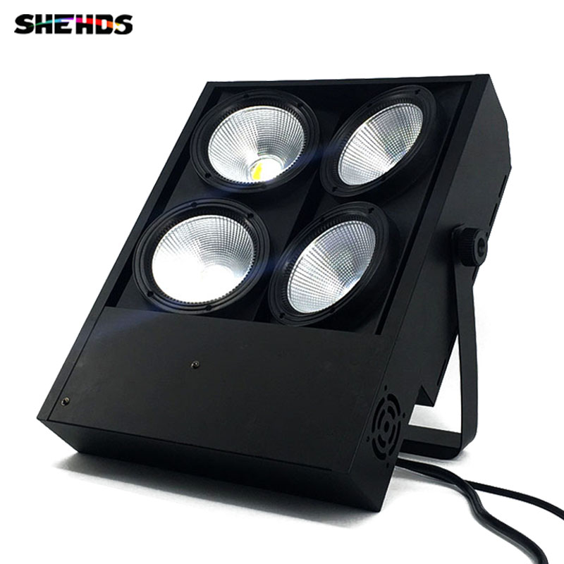 (2pcs) Led Blinder Light 4x100w LED Cob Light with 2 Channels 4 Eyes Blinder Stage Effect Lighting for Events Show blinder m45 x treme