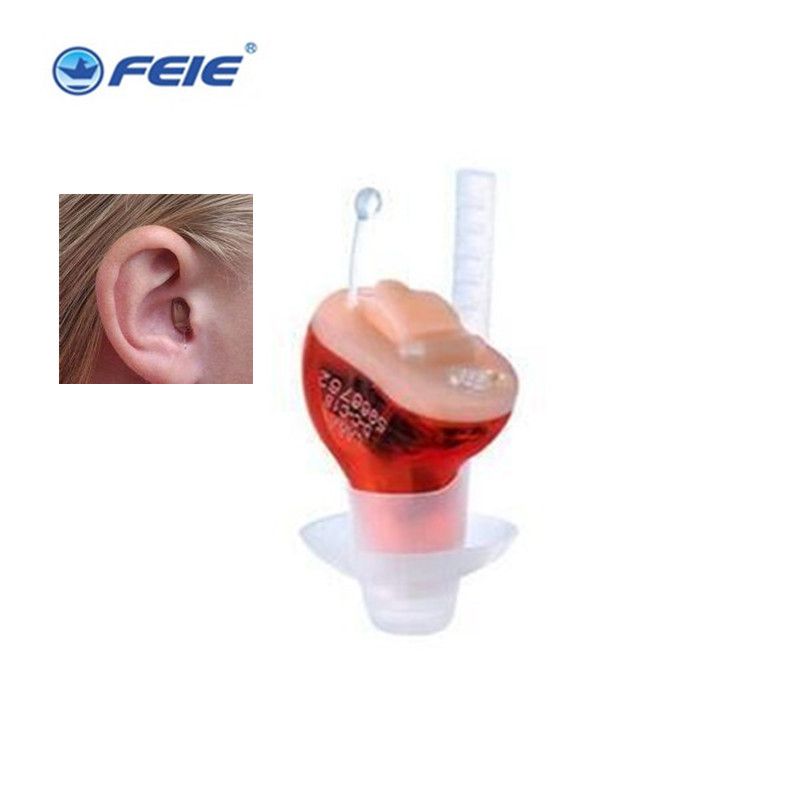 Feie Mini Hearing Aid in Ear Voice Amplifier Digital Hearing Aid S-10B chic quality letters pattern simple style flax pillow case(without pillow inner)