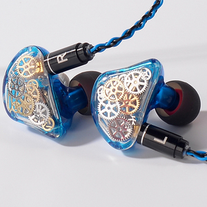 TONEKING TS5 4BA With 1 DD Custome Made in Ear Earphone Colorful Gear Custom Made Hybrid Around Ear Earphone With MMCX Cable