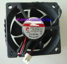 цены New Original SUNON 6CM 6025 12V 1.8W KDE1206PTV1 MS.B2200.GN 2Wire Cooling Fan