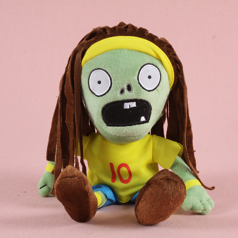 30cm Plants vs Zombies 2 Sport Zombie Plush Stuffed Toys PVZ Zombies Cosplay Plush Toy Doll Gift for Children Kids Christmas image