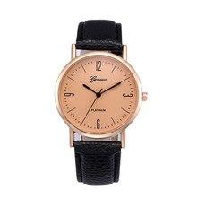 Luxury Women's Watches 2017 Dial Fashion Retro Digital Silver Leather Band Wrist Quartz Watch Ladies Relogio feminino #0721