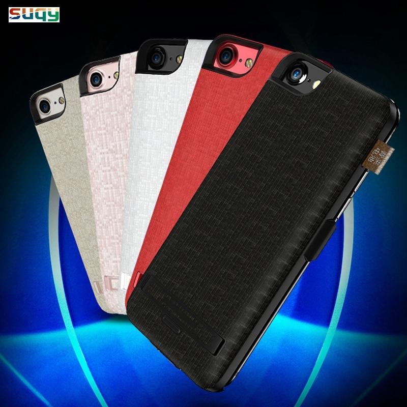 Suqy pour iphone 6 plus 6 s plus 7 plus 8 plus le Cas batterie 5500/7500 mAh Batterie Intelligente Cas pour iphone 6 6 s 7 8 Accumulateur