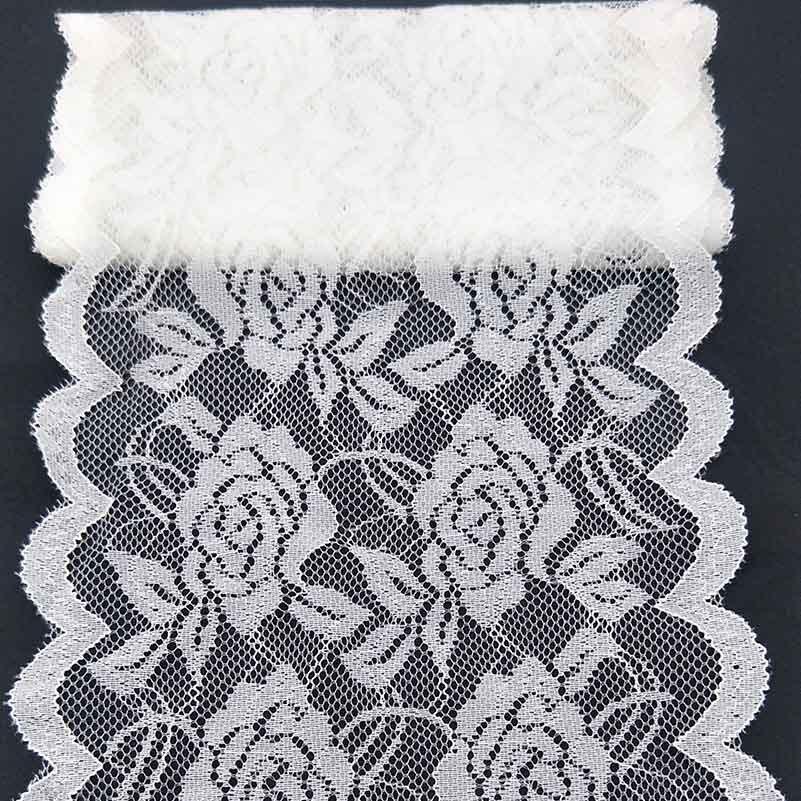 2 ярдов, высокое качество, красивое белое кружево, лента, тесьма 150 мм, кружевная отделка, сделай сам, Вышитое для украшения шитья, африканская...