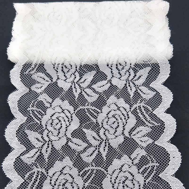 2 Meter Schöne weiße Spitze Band  Trim Nähen Spitze Stoff Applique