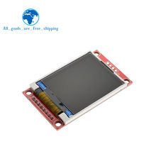 TZT 1.8 inch TFT LCD Module LCD Screen Module SPI serial 51 drivers 4 IO driver TFT Resolution 128*160 For Arduino(China)