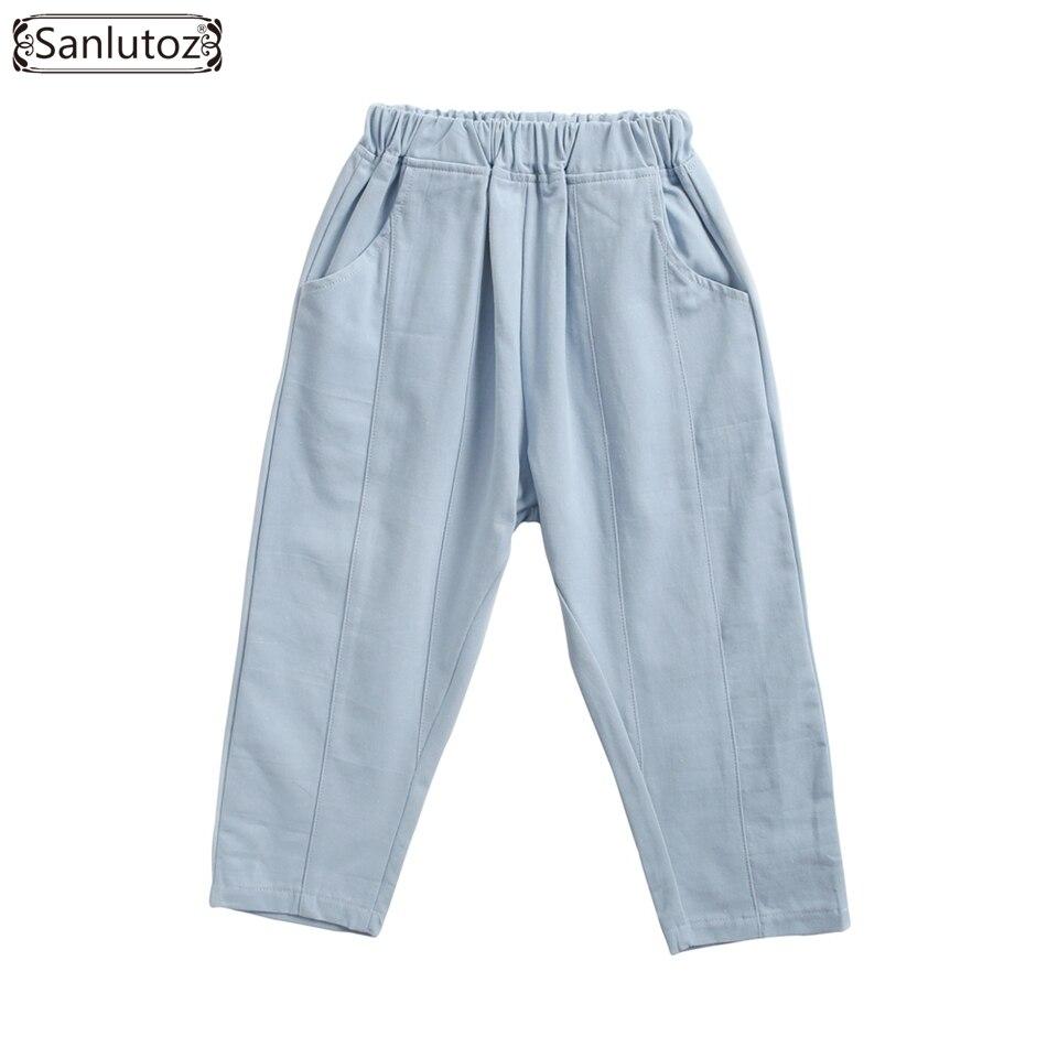 Mädchen Kleidung Clever Sanlutoz Weiche Baumwolle Mädchen Hosen Casual Kinder Kleidung Bunte Herbst Hosen Für Jungen Outdoor-mode Mutter & Kinder