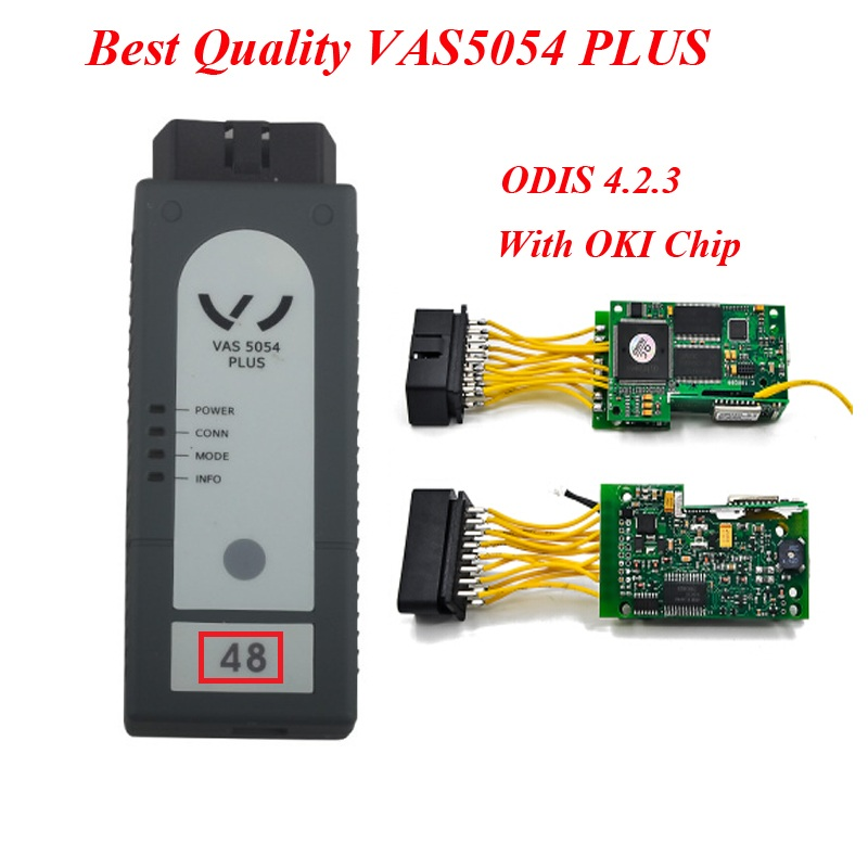 все цены на Best Quality ODIS V4.2.3 VAS 5054 Plus Bluetooth Version with OKI Chip Support UDS Protocol 5054A PLUS