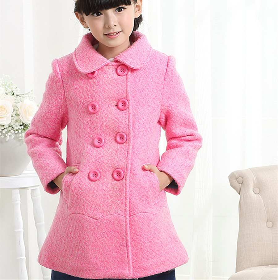 Popular Wool Girls Coat-Buy Cheap Wool Girls Coat lots from China ...