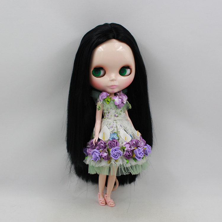 Blyth Nude Doll For Series No.230BL9601 black Hair Suitable For DIY Change Toy For Girls цены онлайн