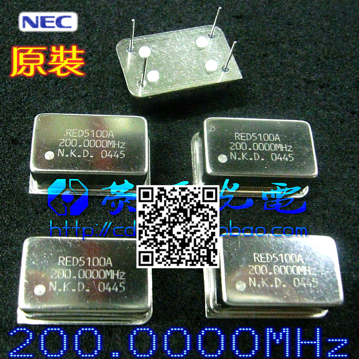 Осциллятор 10 ./200 200.000 dip14/4