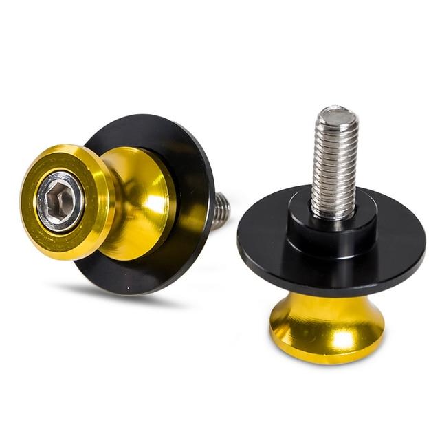 Bobines de bras oscillant M8 | 8mm, curseur, pour Honda CBR 600RR 1000RR 600 F2 F4 F4i, pour Kawasaki Z800 ZX6R ZX10R, pour Suzuki GSXR 750