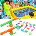 Bebê Crianças Criança Vara De Pesca Magnética Peixe Modelo Educacional Brinquedo Divertido Jogo Do Presente
