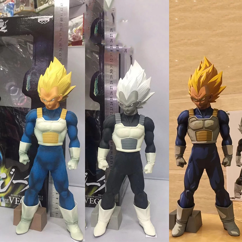 32cm Dragon Ball Z Vegeta Super Saiyan Figure Action Figure DragonBall Vegetto Collection Model Figurine Dolls nd pre sale new genuine funko pop dragonball z super saiyan goku3 75 inch vinyl dolls dragon ball vinyl figure free shipping