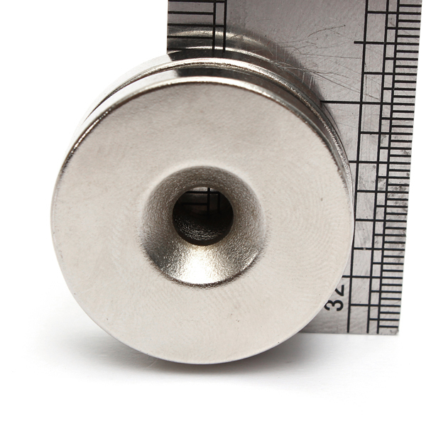 2015 Imanes Arrival Promotion Iman Neodimio 2 Sets/lot _ Strong Countersunk Magnets Hole 5mm Disc Rare Earth Neodymium magnets iman neodimio 2015 promotion new aimant neodymium 2 pcs lot strong magnet 20x5mm eyebolt ring salvage magnetic